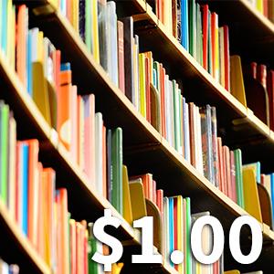 Sale: $1.00 Books