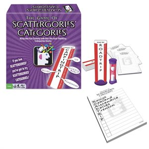 Scattergories Categories Game