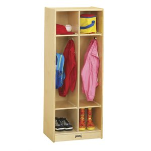 2 Section Coat Locker