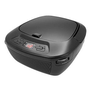 GPX BT Wireless CD Boombox w /  AM / FM 33ft