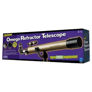 Geosafari® Omega Refractor Telescope
