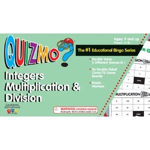 Integers Multiplication & Division Quizmo