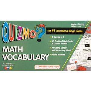 Math Vocabulary Quizmo