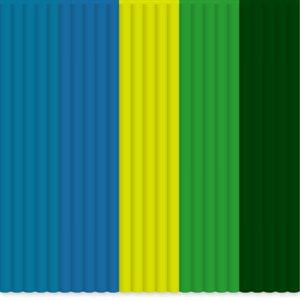 3Doodler Create: Mix color PLA pack - Rainforest Raver