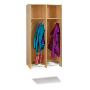 2 Section Hanging Locker - without Tubs