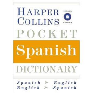 Harpercollins Pocket Spanish Dictionary