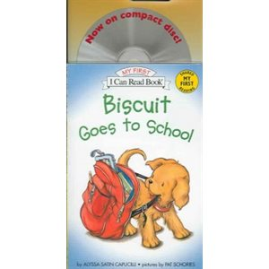 CD-Biscuit Goes to School Book and CD Biscuit Goes to School Book and CD