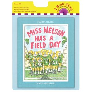 Miss Nelson Has a Field Day book and CD