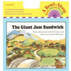 The Giant Jam Sandwich Book & CD