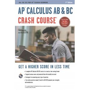 AP® Calculus AB and BC Crash Course Book + Online