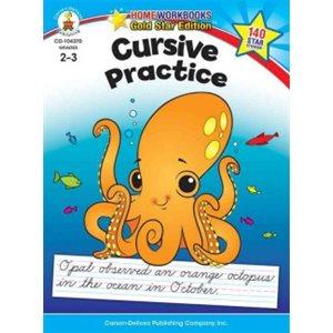 Cursive Practice Grades 2-3