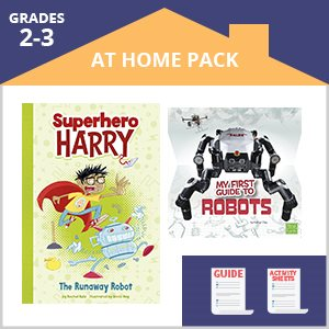 Second Grade At Home Pack 1 Robots