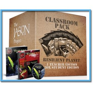 The JASON Project (STEM) Resilient Planet - Classroom Pack