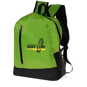 Quick Zip Backpack-Green