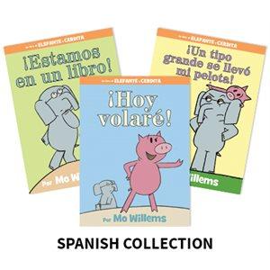 Mo Willems Author Study (4 Books) Spanish