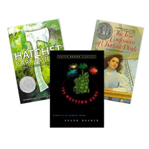 Newbery Award and Honor Winners - Historical Fiction (7 Bk Set)