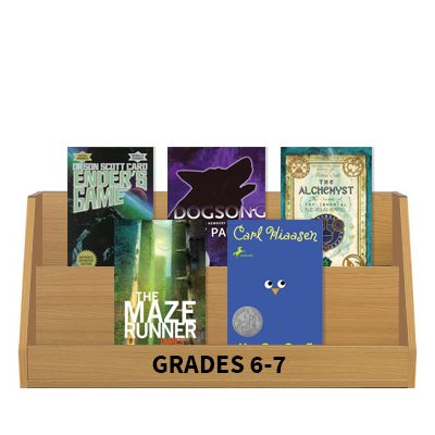 Books Featuring Boys - Grades 6-7 (10 books)