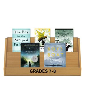Books Featuring Boys - Grades 7-8 (6 books)