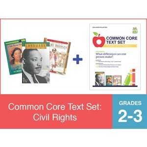 Common Core Text Set: Civil Rights (19 Bk Set)