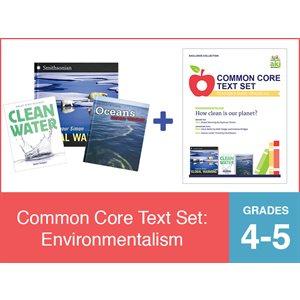 Common Core Text Set: Environmentalism (19 Bk Set)