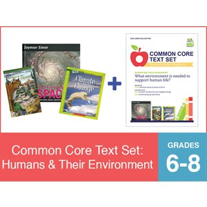 Common Core Text Set: Humans and Their Environment (19 Bk Set)