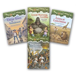 The Magic Tree House: With Research Guides (44 Bk Set)