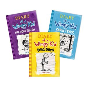 Series Sampler - Diary of a Wimpy Kid (4 Bk Set)