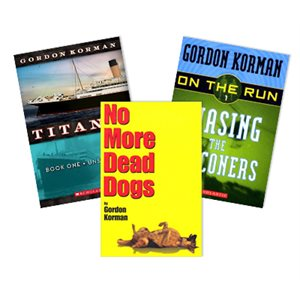 Favorite Author Study - Gordon Korman (4 Books)