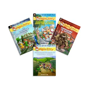 Geronimo Stilton Graphic Novels (10 Books)