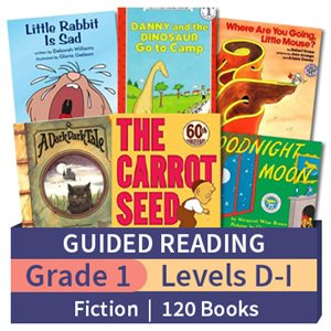 Guided Reading Collection: Grade 1 Fiction (120 books)