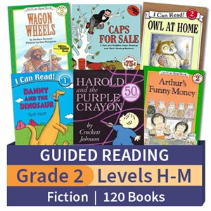 Guided Reading Collection: Grade 2 Fiction (120 books)