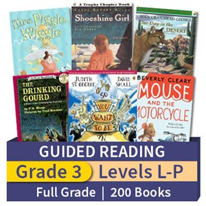 Guided Reading Collection: Grade 3 Full Grade (200 books)