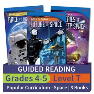 Guided Reading Collection: Popular Curriculum Themes Space Level T (3 books)