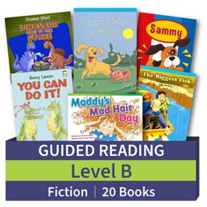 Guided Reading Collection: Level B Fiction (20 books)
