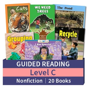 Guided Reading Collection: Level C Nonfiction (20 books)