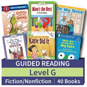 Guided Reading Collection: Level G Fiction and Nonfiction Combo (40 books)