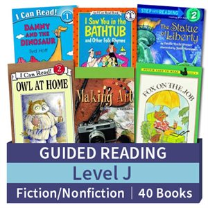 Guided Reading Collection: Level J Fiction and Nonfiction Combo (40 books)