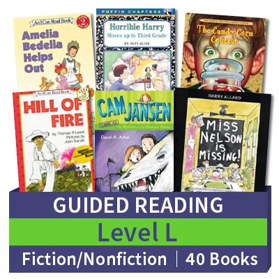 Guided Reading Collection: Level L Fiction and Nonfiction ...