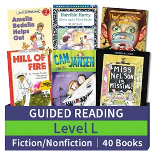 Guided Reading Collection: Level L Fiction and Nonfiction Combo (40 books)