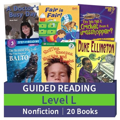 Guided Reading Collection: Level L Nonfiction (20 books)