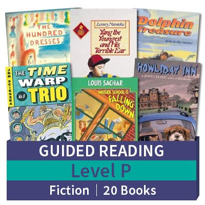 Guided Reading Collection: Level P Fiction (20 books)