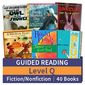 Guided Reading Collection: Level Q Fiction and Nonfiction Combo (40 books)