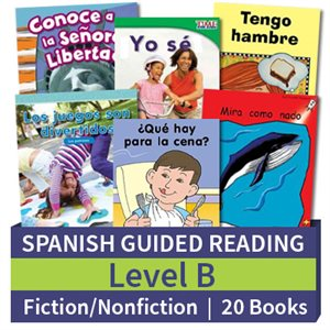 Guided Reading Collection: Spanish Level B Complete (20 Books)