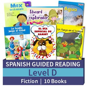Guided Reading Collection: Spanish Level D Fiction (10 Books)