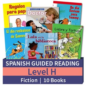 Guided Reading Collection: Spanish Level H Fiction (10 Books)