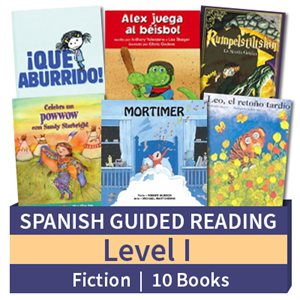 Guided Reading Collection: Spanish Level I Fiction (10 Books)