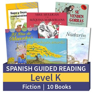 Guided Reading Collection: Spanish Level K Fiction (10 Books)