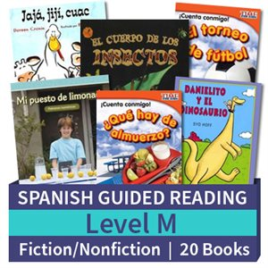 Guided Reading Collection: Spanish Level M Complete (20 Books)