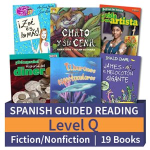Guided Reading Collection: Spanish Level Q Complete (19 Books)