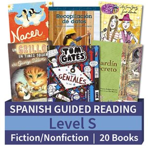Guided Reading Collection: Spanish Level S Complete (20 Books)
